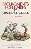 Nicolas - Mouvements populaires et conscience sociale - Xvie-xixe siècles, actes du colloque de Paris, 24-26 mai 1984.