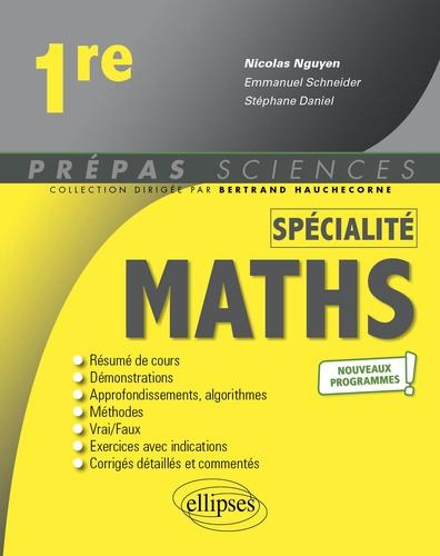 Mathématiques 1re spécialité