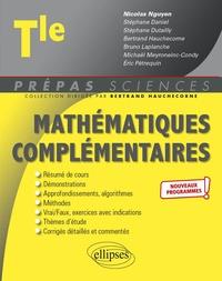 Nicolas Nguyen - Mathématiques complémentaires Tle.