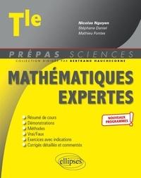 Nicolas Nguyen - Mathématiques expertes Tle.