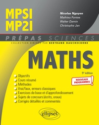 Nicolas Nguyen - Mathématiques MPSI/MP2I.