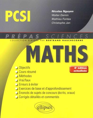 Mathématiques PCSI 4e édition