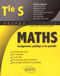 Nicolas Nguyen - Mathématiques Tle S - Enseignements spécifique et de spécialité.