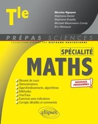 Nicolas Nguyen et Stéphane Daniel - Spécialité Mathématiques Tle.