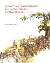 """Nicolas Paridaens - Le sanctuaire gallo-romain de """"La Taille Marie"""" à Aiseau-Presles."""