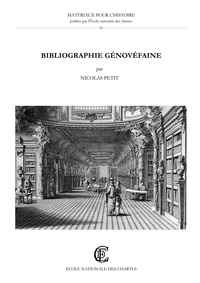 Nicolas Petit - Bibliographie génovéfaine - Ouvrages publiés par les chanoines réguliers.