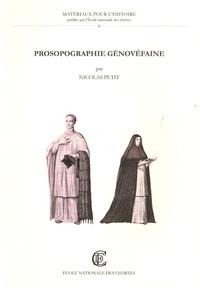 Nicolas Petit - Prosopographie génovéfaine - Répertoire biographique des chanoines réguliers de saint Augustin de la Congrégation de France (1624-1789).
