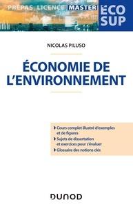 Nicolas Piluso - Economie de l'environnement.