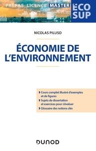 Nicolas Piluso - Économie de l'environnement.
