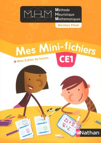 Mathématiques CE1 Mes Mini-fichiers. Avec Mon cahier de leçons