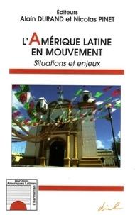 Nicolas Pinet - L'Amérique latine en mouvement : situations et enjeux.
