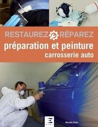 Nicolas Point - Préparation et peinture carrosserie auto.