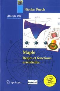 Nicolas Puech - Maple - Règles et fonctions essentielles. 1 CD audio