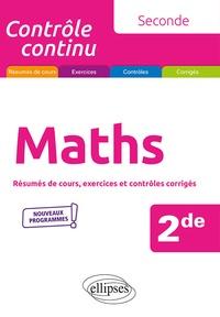 Nicolas Rauwel - Maths 2de - Résumés de cours, exercices et contrôles corrigés.
