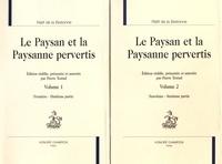 Nicolas Rétif de La Bretonne - Le paysan et la paysanne pervertis - 2 volumes.
