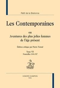 Nicolas Rétif de La Bretonne - Les Contemporaines ou Aventures des plus jolies femmes de l'âge présent - Tome 7, Nouvelles 168-187.