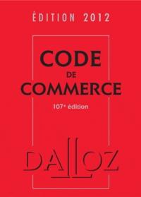 Nicolas Rontchevsky - Code de commerce 2012.