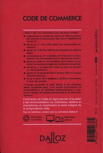 Code de commerce annoté  Edition 2021