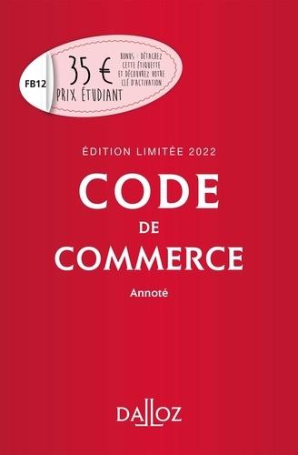 Nicolas Rontchevsky - Code de commerce annoté - Edition limitée.