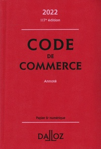 Nicolas Rontchevsky et Eric Chevrier - Code de commerce annoté.