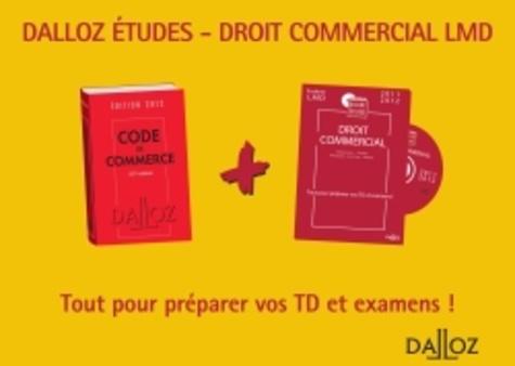Droit commercial LMD. Code de commerce ; Cd-Rom : Droit commercial 107e édition -  avec 1 Cédérom