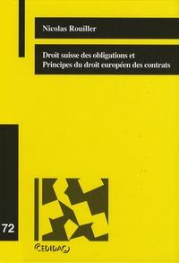 Alixetmika.fr Droit suisse des obligations et Principes du droit européen des contrats Image