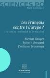 Nicolas Sauger et Sylvain Brouard - Les Français contre l'Europe ? - Les sens du référendum du 29 mai 2005.