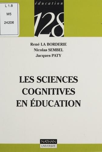 Les sciences cognitives en éducation