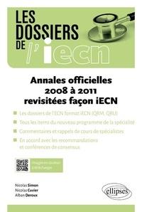Deedr.fr Annales officielles 2008 à 2011 revisitées Image