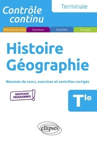Nicolas Smaghue - Histoire Géographie Tle.