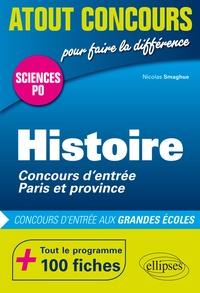 Nicolas Smaghue - Histoire Sciences Po - Concours d'entrée Paris et province.