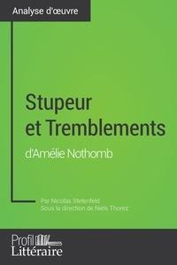 Nicolas Stetenfeld et Niels Thorez - Stupeur et Tremblements d'Amélie Nothomb (Analyse approfondie) - Approfondissez votre lecture des romans classiques et modernes avec Profil-Litteraire.fr.