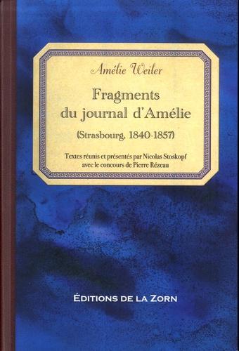 Fragments du journal d'Amélie (Strasbourg, 1840-1857)