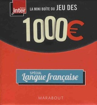 Nicolas Stoufflet et Stéphanie Bouvet - La mini-boîte du jeu des 1000 euros - Spécial langue française.