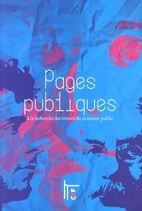 Nicolas Taffin - Pages publiques - A la recherche des trésors du domaine public.