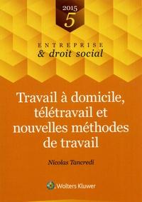 Nicolas Tancredi - Travail à domicile, télétravail et nouvelles méthodes de travail.