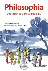 Livres audio gratuits pour les lecteurs mp3 à télécharger Philosophia  - Une histoire de la philosophie en BD FB2 iBook 9782340027787 par Nicolas Tenaillon, Hélène Zeyer