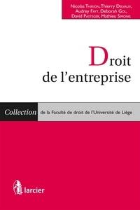 Nicolas Thirion et Thierry Delvaux - Droit de l'entreprise.