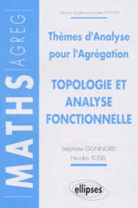 Galabria.be THEMES D'ANALYSE POUR L'AGREGATION. Topologie, analyse fonctionnelle Image