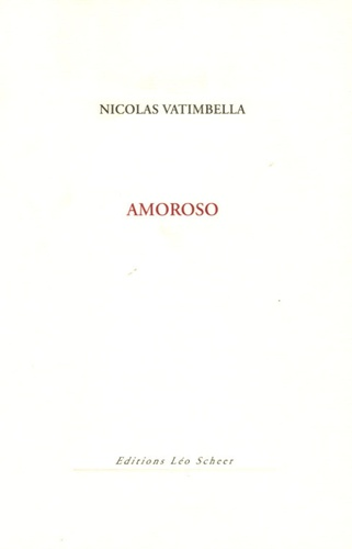 Nicolas Vatimbella - Amoroso.