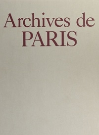 Nicolas Viasnoff et Jacques Borgé - Archives de Paris.