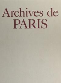 Nicolas Viasnoff et Jacques Borgé - Archives de Paris.