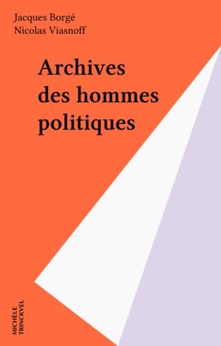 Archives des hommes politiques