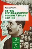 Nicolas Werth - Histoire de l'Union soviétique de Lénine à Staline (1917-1953).