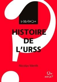 Nicolas Werth - Histoire de l'URSS.