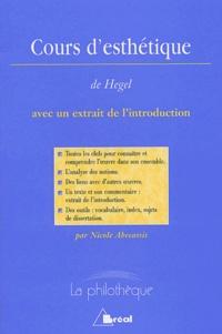 Nicole Abécassis - Cours d'Esthétique - Extrait de l'introduction.