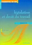 Nicole Alluis-Pissaruk - Législation et droit du travail, terminale BEP.