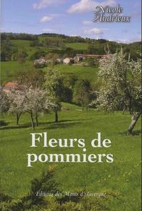 Nicole Andrieux - Fleurs de pommiers.