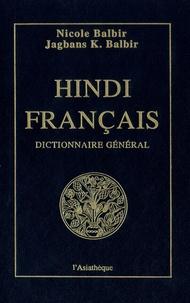 Dictionnaire général hindi-français - Nicole Balbir pdf epub
