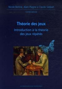 Nicole Berline et Alain Plagne - Théorie des jeux - Introduction à la théorie des jeux répétés.
